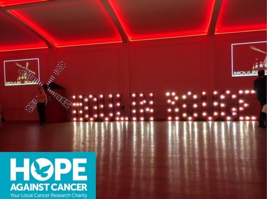 Hope Against Cancer Moulin Rouge Ball 2018